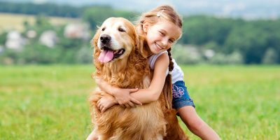 A dog can help your child